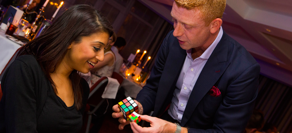 Rubik's Cube Magician London